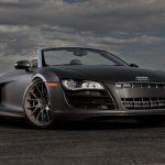Essai de l'Audi R8 Spyder V10 2017