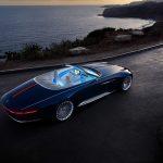 « Vision Mercedes-Maybach 6 Cabriolet » : le nouveau yacht roulant de Maybach !
