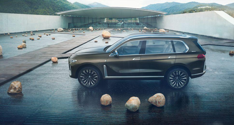 BMW Concept X7 iPerformance, le concept de l'automobile de luxe