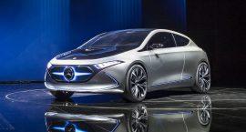 Le concept-car EQA : la grande offensive électrique de Mercedes !