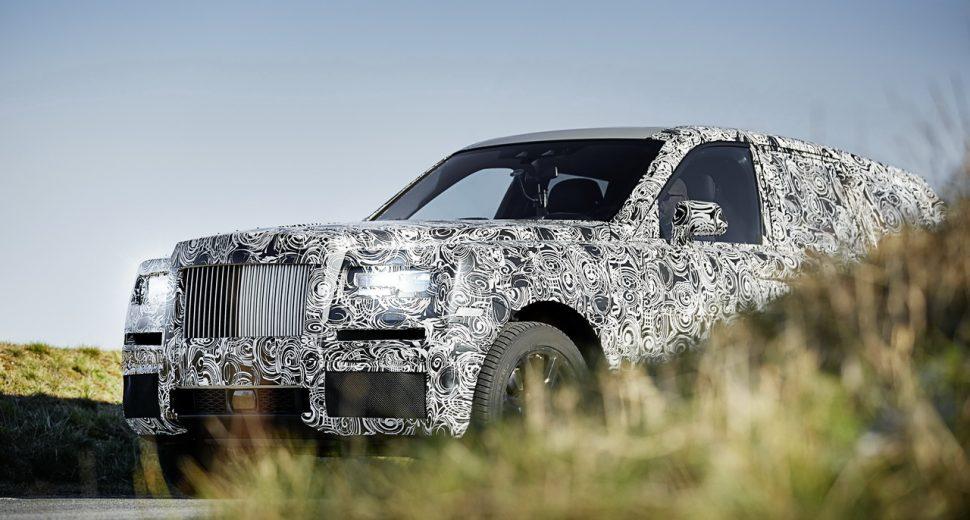Le SUV Cullinan, la réponse de Roll Royce à la Bentley Bentayga