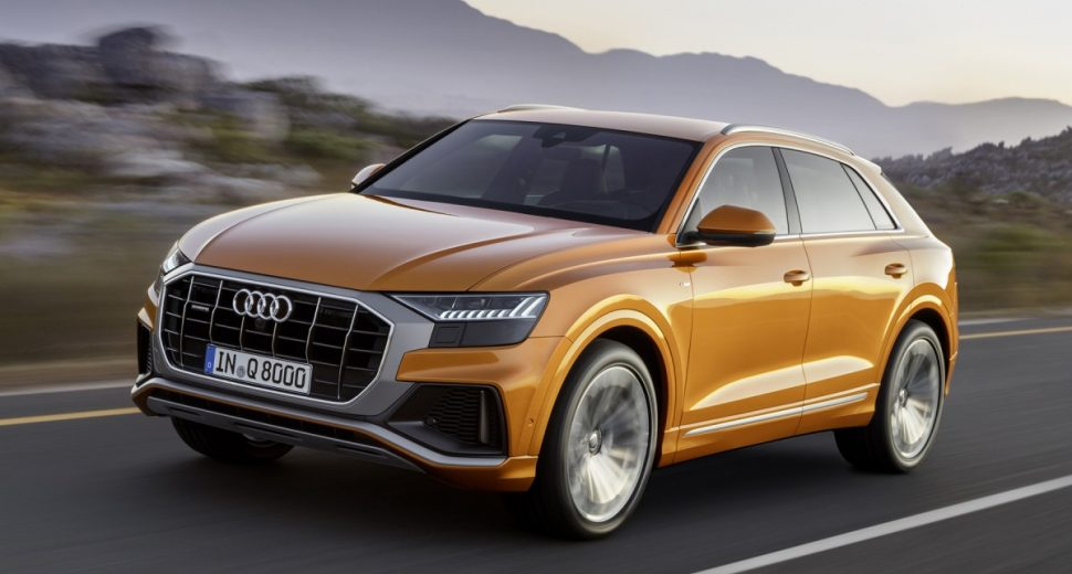 Audi SQ8 2018, le SUV en mode sportif