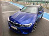 Essai BMW M5 F90 2018